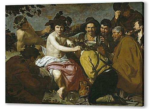 The Triumph of Bacchus or the Drinkers