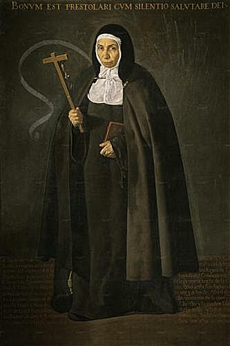 The Venerable Mother Jeronima de la Fuente