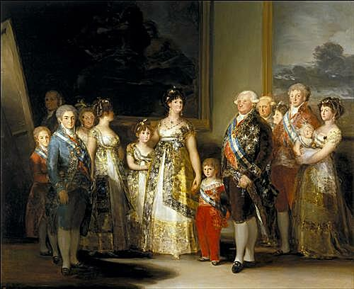 The Family of Carlos IV