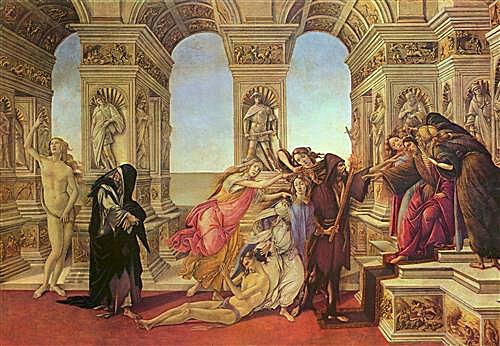 Картина - The Calumny of Apelles