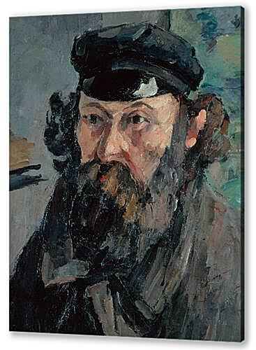 Картина маслом - Self-Portrait in a Casquette