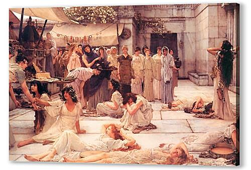 Постер на подрамнике - The Women of Amphissa