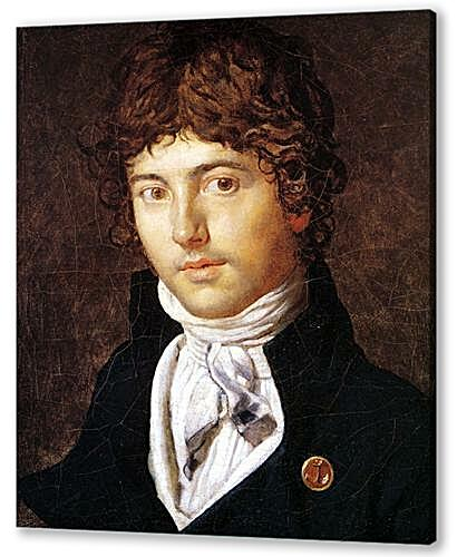 Постер на подрамнике - Portrait of Pierre Francois Bernier