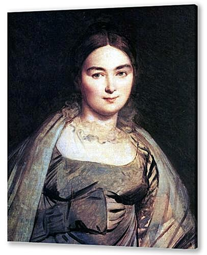 Madame Jean Auguste Dominique Ingres, nee Madeleine Chapelle