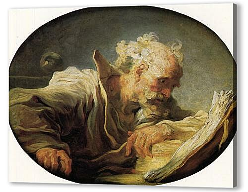 Картина маслом - Philosopher Reading