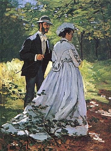 The Walkers (Bazille and Camille)