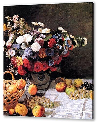 Still-Life with Flowers and Fruits
