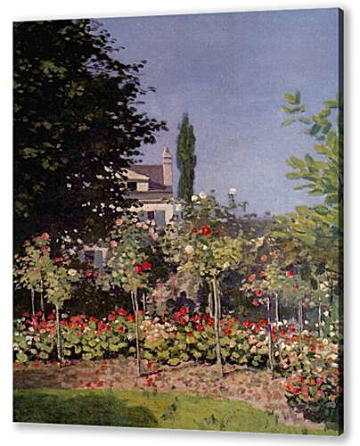 Flowering Garden at Sainte-Adresse