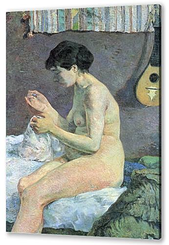 Study of a Nude (Suzanne Sewing)