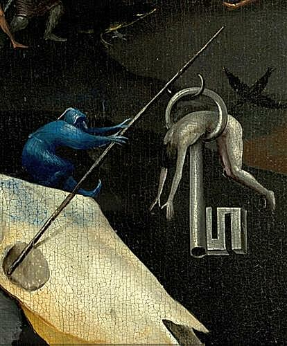 The Garden of Earthly Delights, right panel (Detail