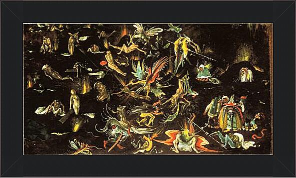 Картина - The resurrection of the dead and doomed lead into Hell (fragment of a Last Judgement)