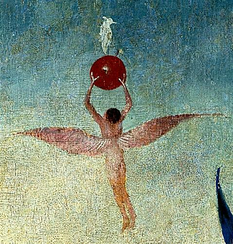 The Garden of Earthly Delights, left panel (Detail