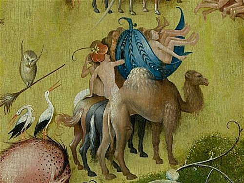The Garden of Earthly Delights, central panel (Detail