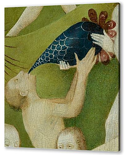 The Garden of Earthly Delights, center panel (Detail Drinking man)