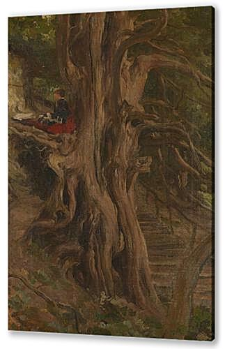 Картина маслом - Trees at Cliveden, Frederic