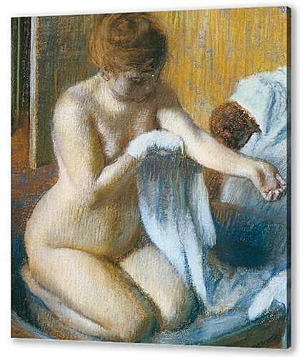 Degas Edgar, Femme au tub Woman with the tub