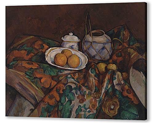 Still Life with Ginger Jar, Sugar Bowl, and Oranges