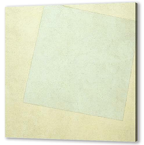 Постер на подрамнике - Suprematist Composition White on White