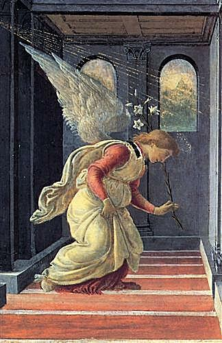 The Annunciation detail (2)