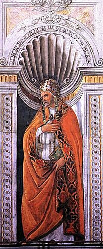 Portrait of the pope, Staint Sixtus II