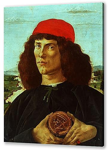 Portrait of a Man with the Medal of Cosimo de Medici the Elder