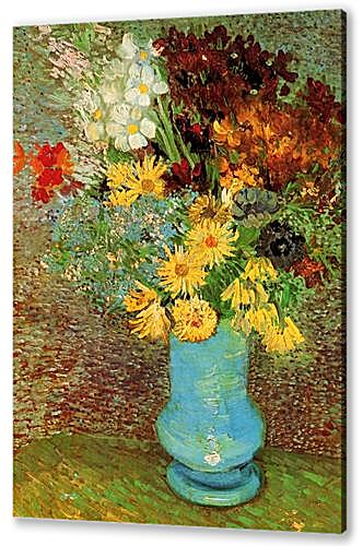 Vase with Daisies and Anemones
