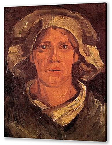 Head of a Peasant Woman with White Cap 6