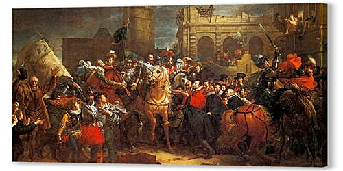 Entry of Henri IV in Paris