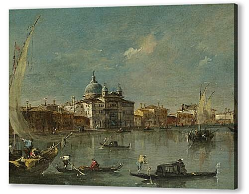 Постер на подрамнике - The Giudecca with the Zitelle