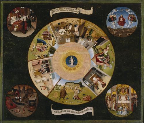 Картина 7 смертных грехов
