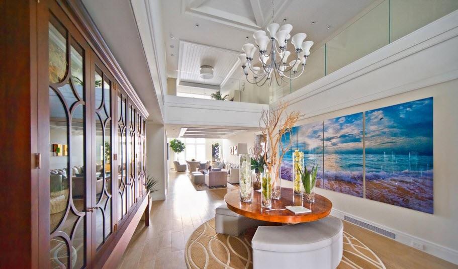 Изображение во всю стену украсит гостиную